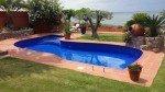 carrelage piscine bleu nuit