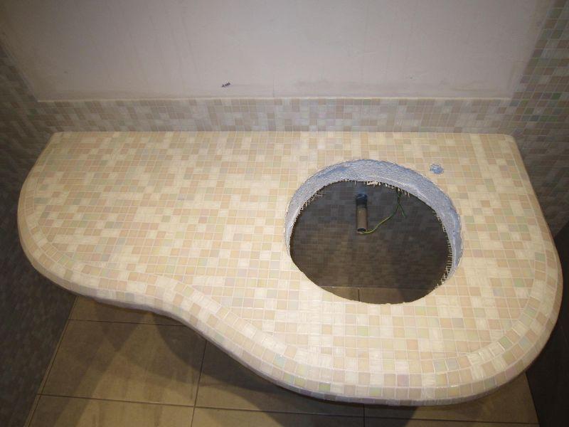 Cyril grenet les salles de bain for Support vasque salle de bain