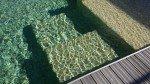 piscine en pate de verre beige dolce mosaique
